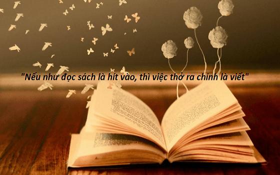 Review Câu chuyện từ giỏ đựng than: Nếu như đọc sách là hít vào, thì việc thở ra chính là viết