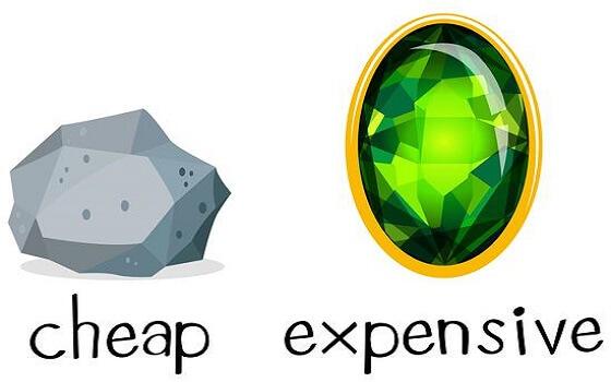 từ vựng đắt-rẻ