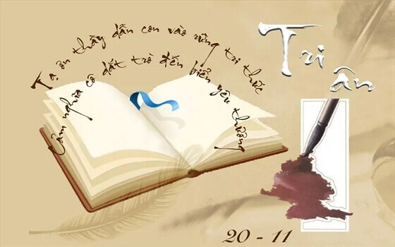 Ngày 20/11: Những bài văn hay và xúc động viết về thầy cô, giáo