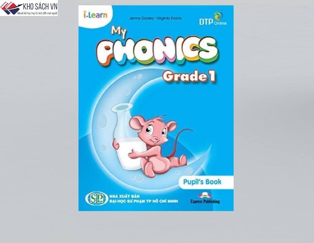 Kiến thức tiếng anh cho trẻ học lớp 1 (Sách My Phonics Grade 1)
